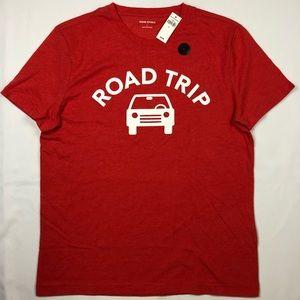 """Banana Republic Men's Tshirt """"Road Trip"""" size """"L"""""""